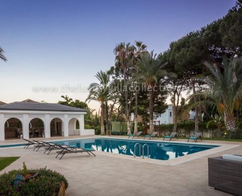 luxury private rental villa Marbella