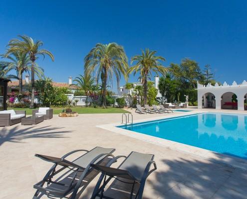 luxury villa rental Marbella