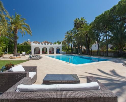 Marbella villa rental