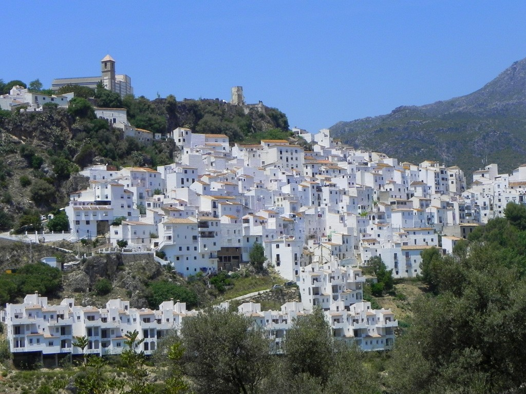 costa del sol white villages