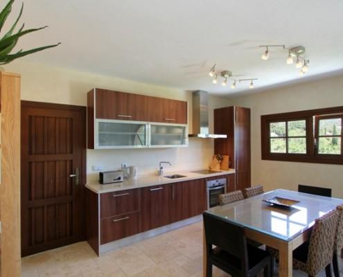 Villa apartment kitchen