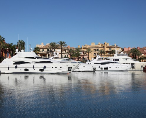 Private yacht charter Spain