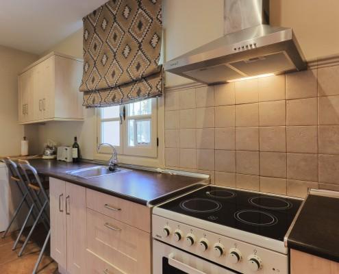 Sotogrande villa staff apartment kitchen