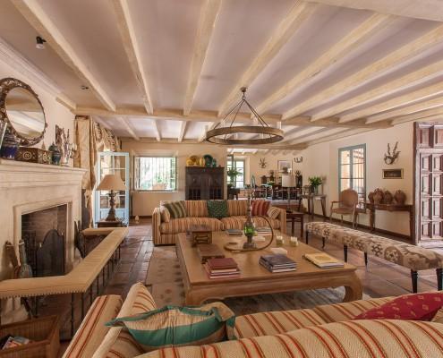 Luxury villa with classical Spanish interiors