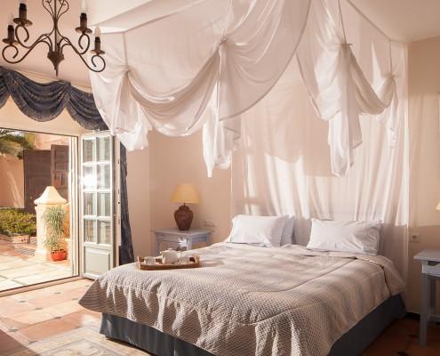 Luxury Cortijo guest bedroom 1