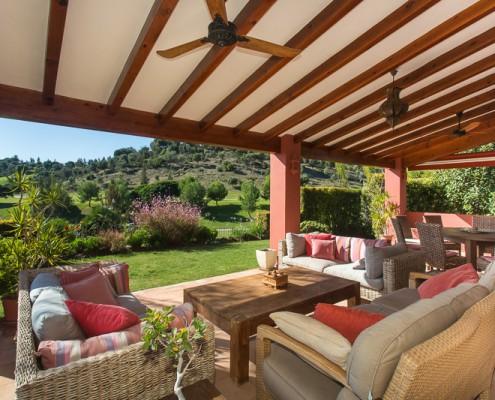 La Toscana Villa Marbella terrace