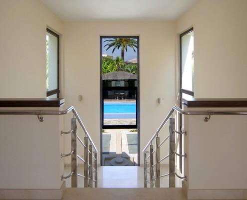 Villa architectural details