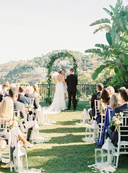 Spanish hacienda wedding in Marbella