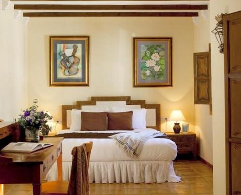 Madronal villa bedroom wedding rental