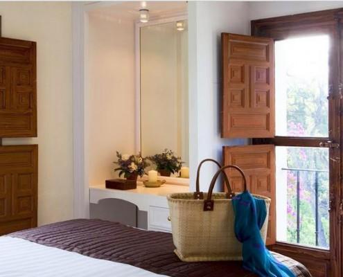 Madronal villa double bedrooom wedding rental