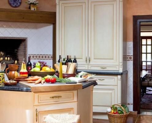 Kitchen Madronal villa rental