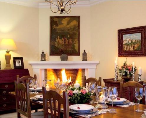 Dining room Hacienda de madronal 1 wedding rental