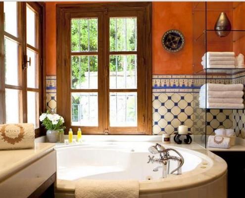 Madronal villa master bathroom