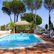 Luxury madronal villa pool wedding rental