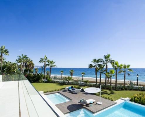 Puerto Banus beach villa