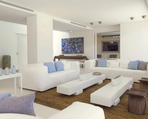 Marbella villa living room
