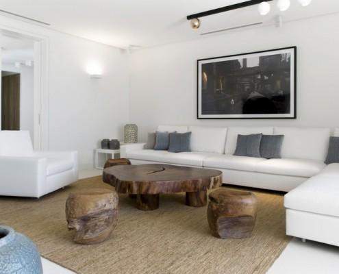 Marbella Beach villa TV lounge