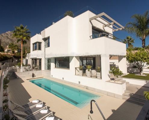 Villa Solise Marbella modern rental villa