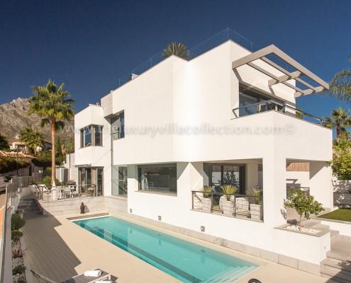 Villa Solise Contgemporary Marbella Villa Rentals