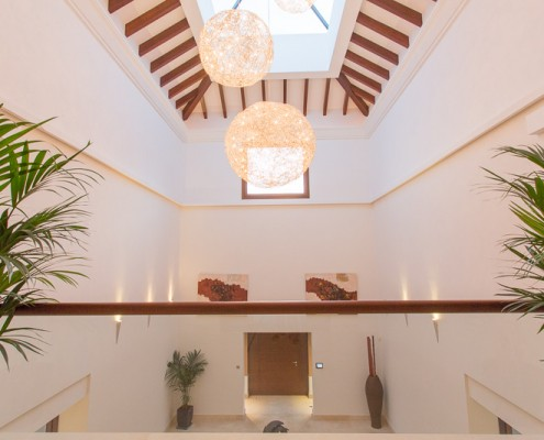 Interiors in Marbella designer villa to rent