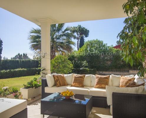 Villa Jeni gardens Marbella