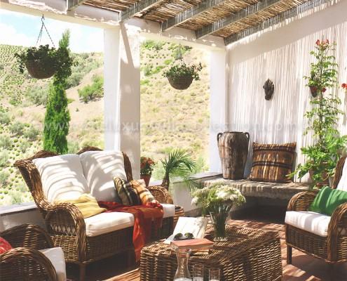 rural villa rental Malaga