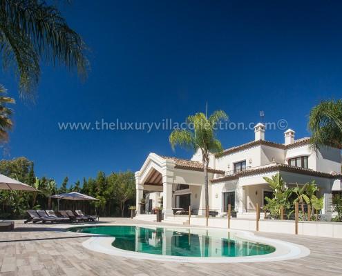 Villa Monterey Puerto Banus pool