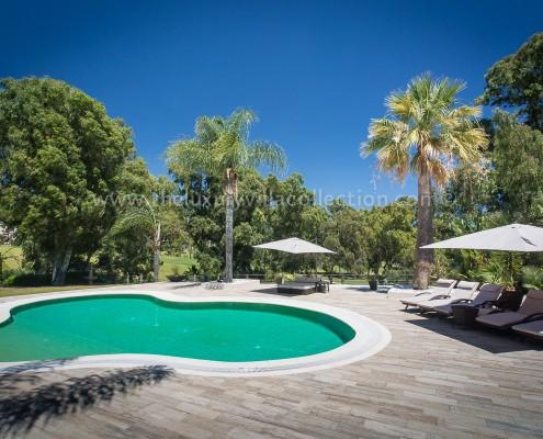 Villa Monterey Puerto Banus modern poolside