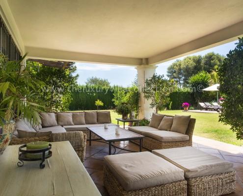Villa DaVinci summer terrace