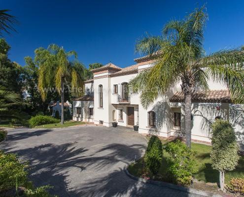 Villa Monterey rent Marbella exterior