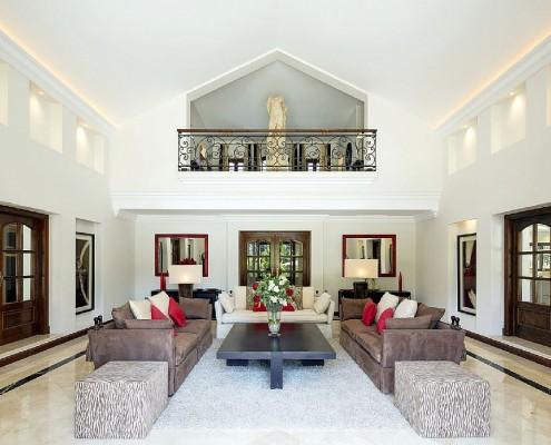 Villa Monterey Puerto Banus elegant interiors