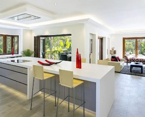 Villa Monterey Puerto Banus modern kitchen