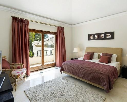 Villa Monterey Puerto Banus bedroom