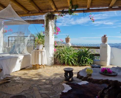 views Malaga villa rental Spain