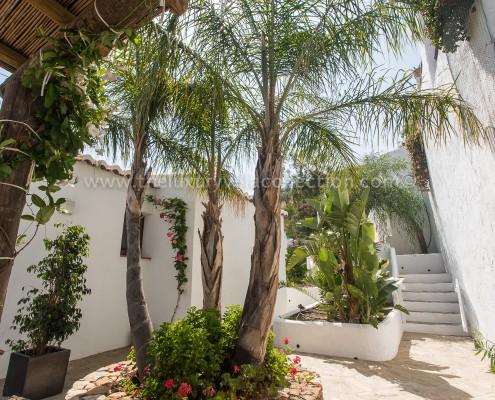 Malagha luxury villa andalucia patios