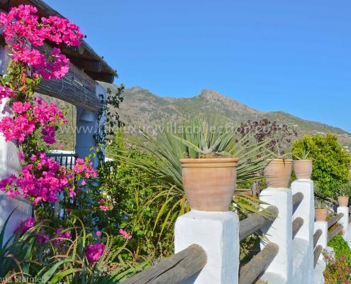 views Malaga villa rental