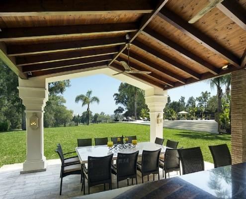 Villa Monterey Puerto Banus summer dining room