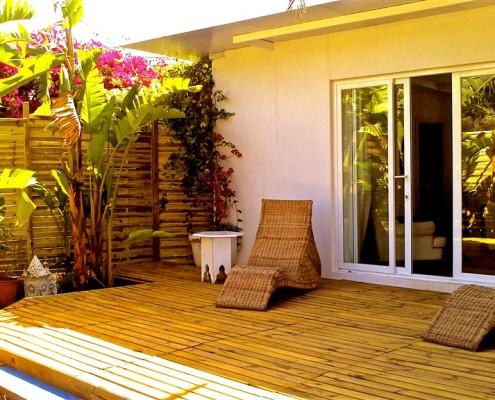 Villa Bali casita deck