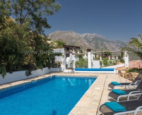 Malaga luxury villa private swimming pool