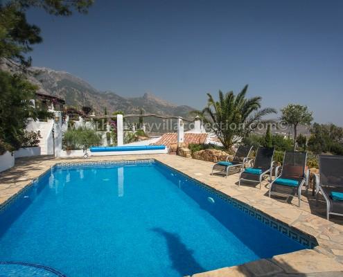 Malaga luxury villa private pool