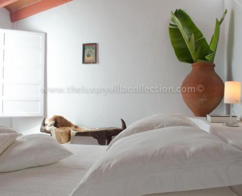 luxury interiors villa rental Spain