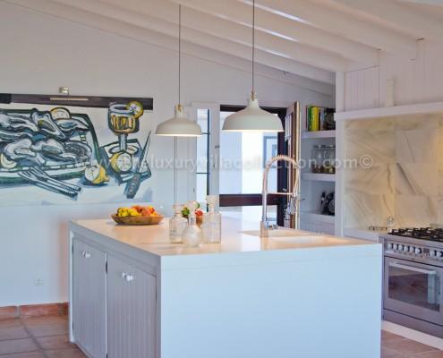 contemporary villa Malaga rental