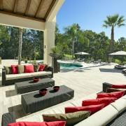 Villa Monterey Puerto Banus terraces