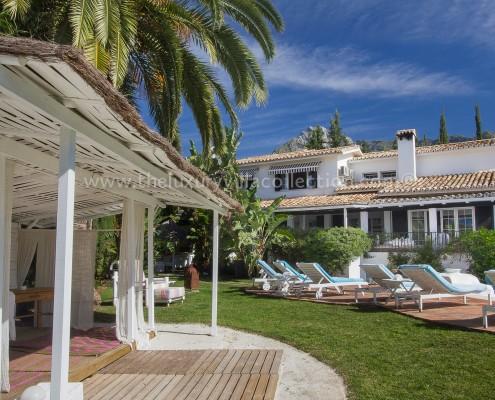Villa Bali gardens Marbella