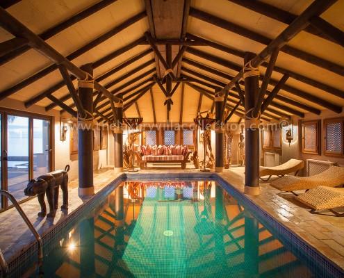 Villa Las Artes Marbella infoor pool