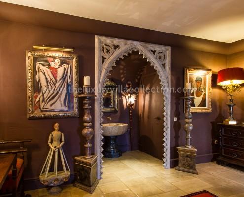 Villa Las Artes Marbella interior decor