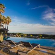 Villa Las Artes Marbella seaview terrace