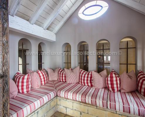 Villa Las Artes Marbella turret hideaway