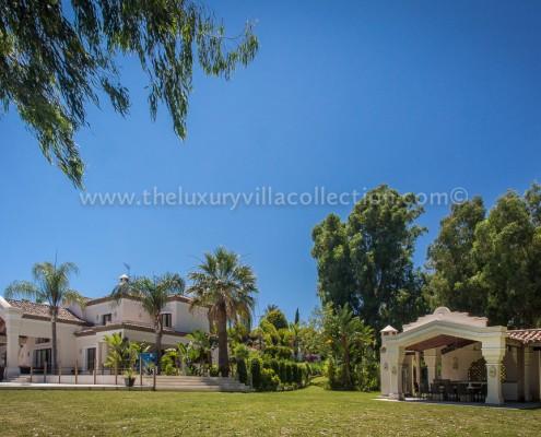 Villa Monterey Puerto Banus landscaped gardens