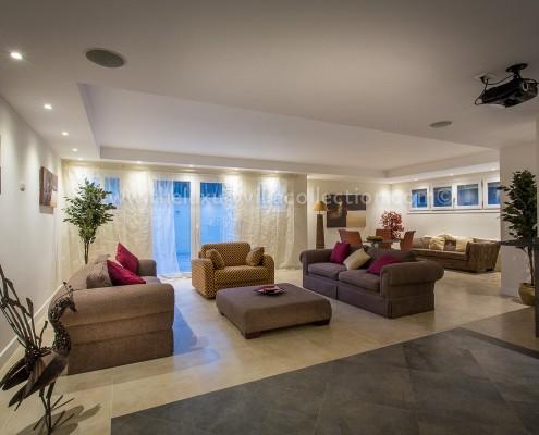 Villa Monterey Puerto Banus entertainments den